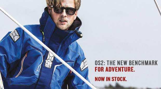 97a01427b New OS2 Jacket from Gill - West Coast Sailing